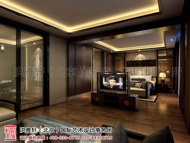 套房简约中式装修宾馆