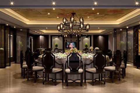 湖南宾馆现代简约中式装修案例——深邃古朴,优雅达观