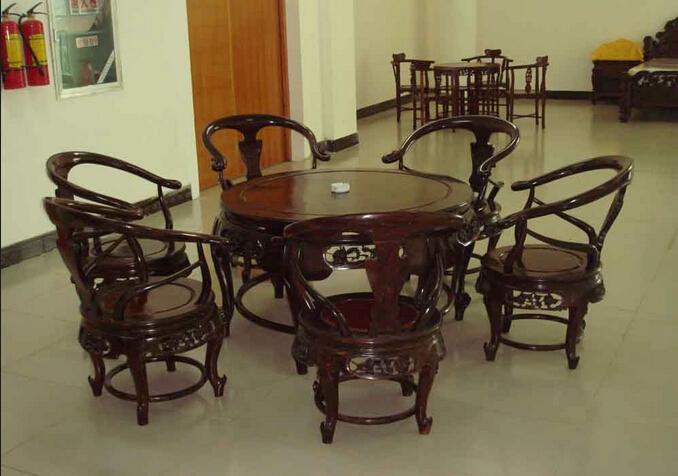红酸枝木中式家具