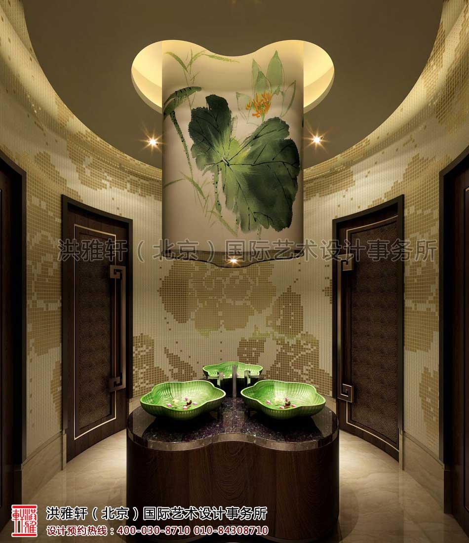 卫生间客栈新中式装修