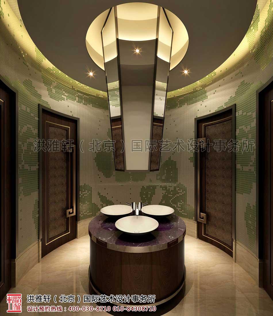 新中式装修卫生间客栈