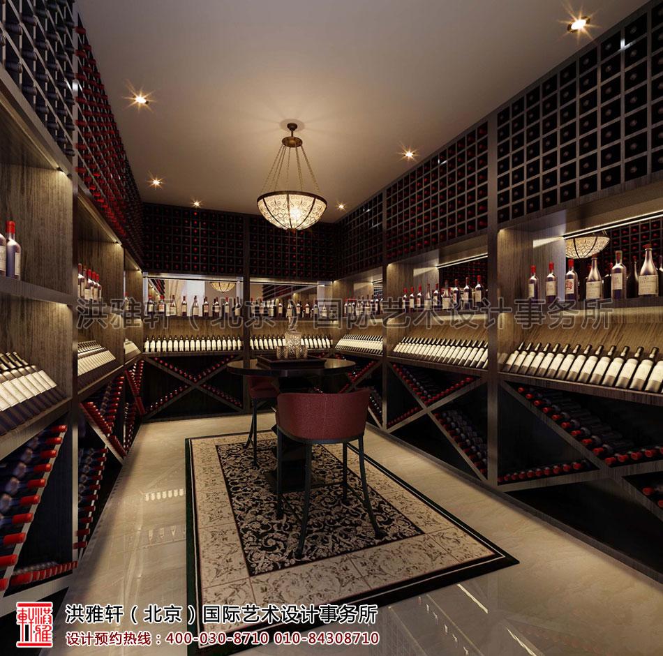 酒窖私人会所中式装修