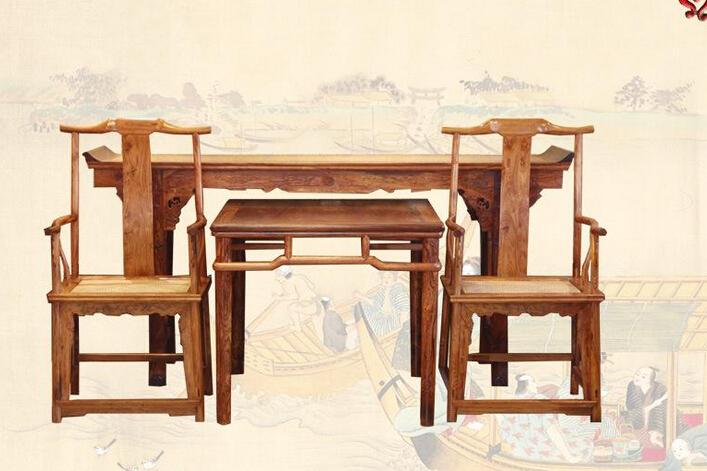 黄花梨中式家具的详细保养措施有哪些