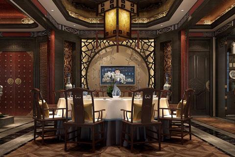 北京古典中式装修茶楼会所,奢华的古典音符
