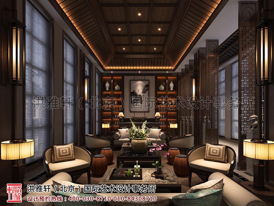 酒店餐厅包间新中式装修风格