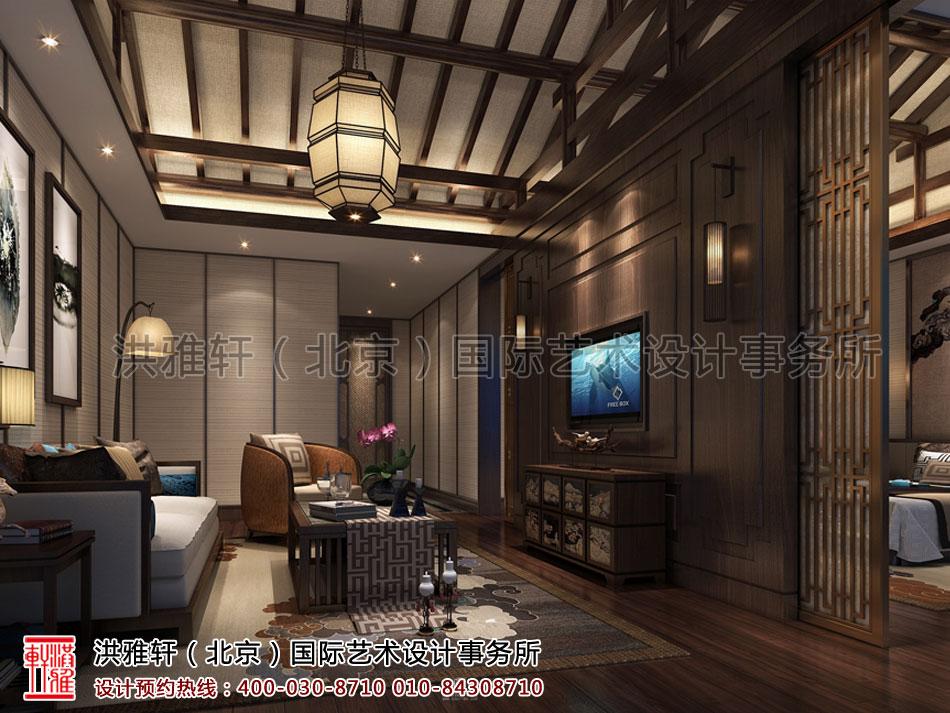 酒店餐厅新中式风格休闲区
