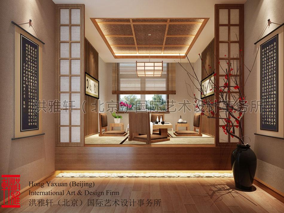 简约中式装修精品住宅包房