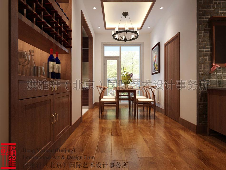 中式设计厨房防水工程