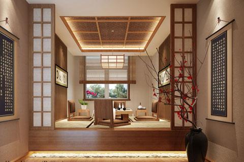 北京精品住宅简约中式装修案例——无声清幽的古风空间