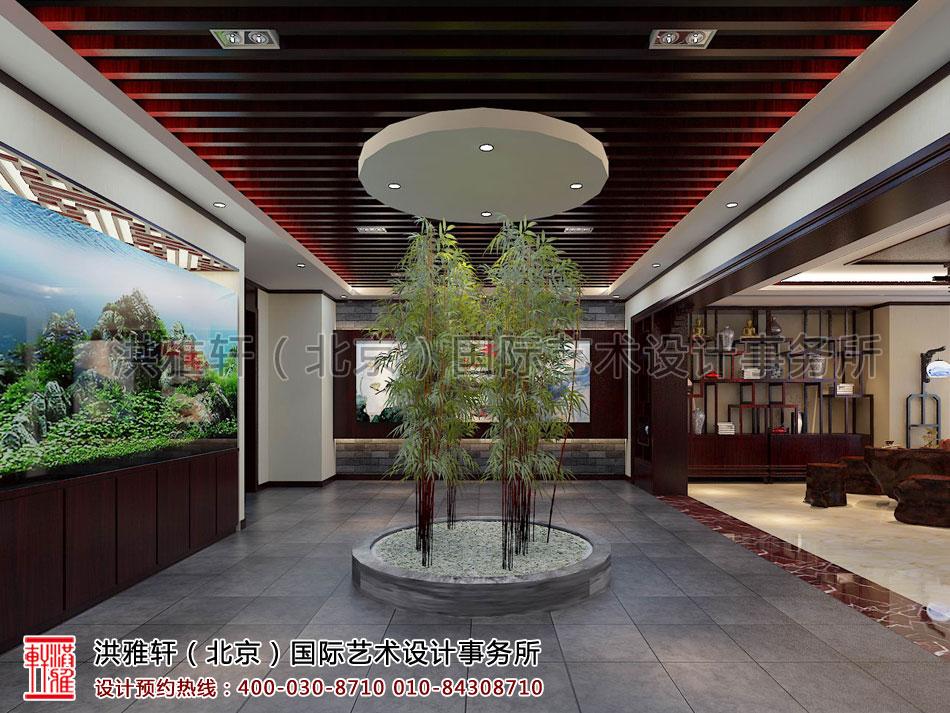 茶室新古典中式装修办公室