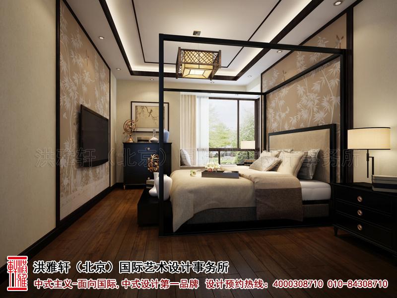 新中式装修复式楼卧室