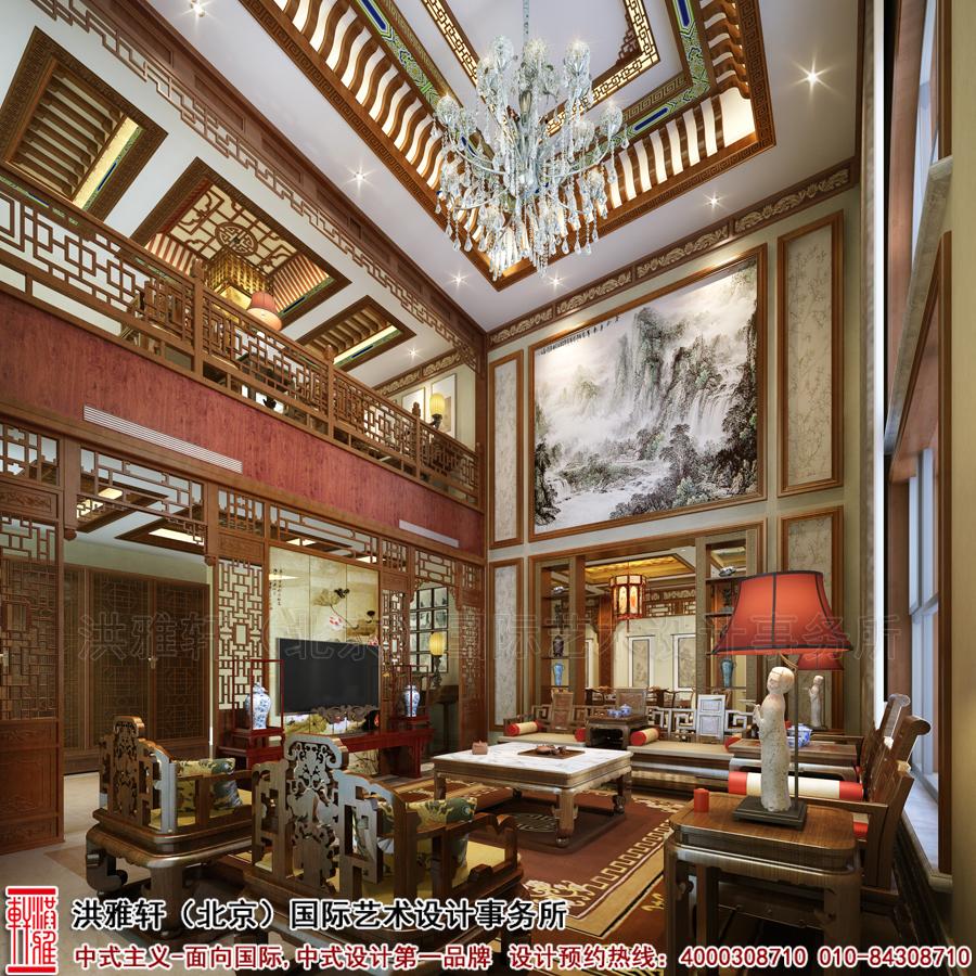 客厅古典中式装修别墅