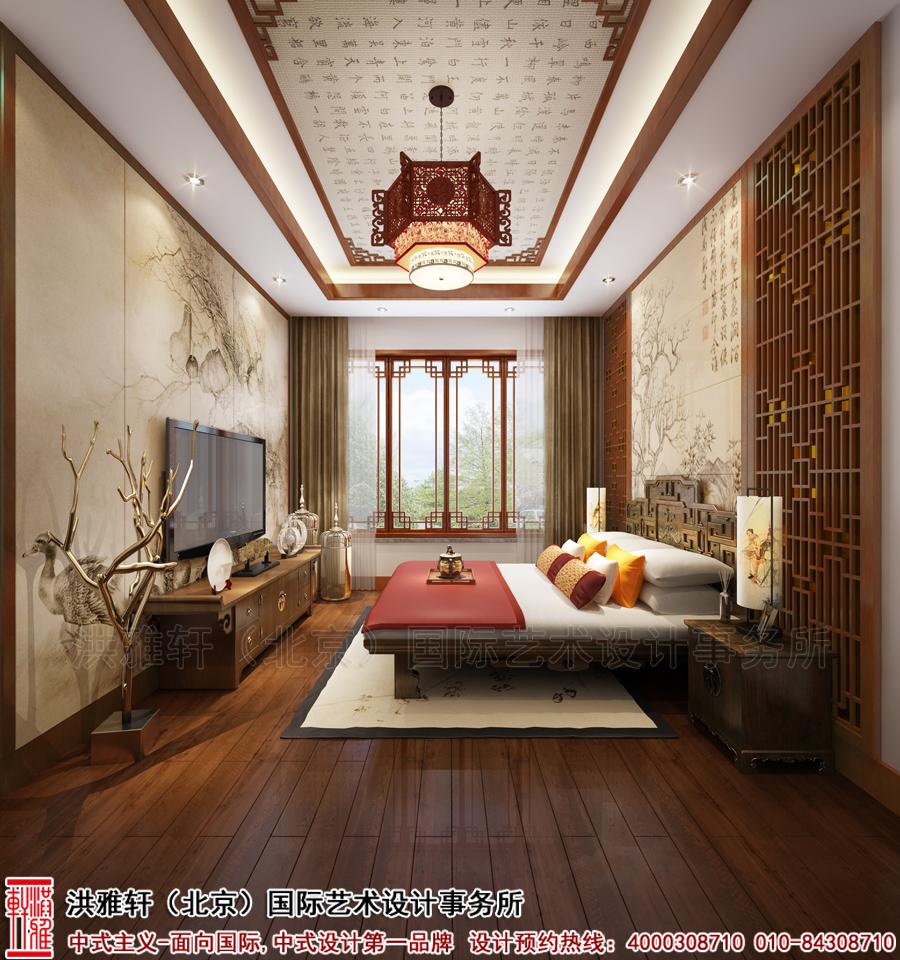 老人房古典中式装修别墅