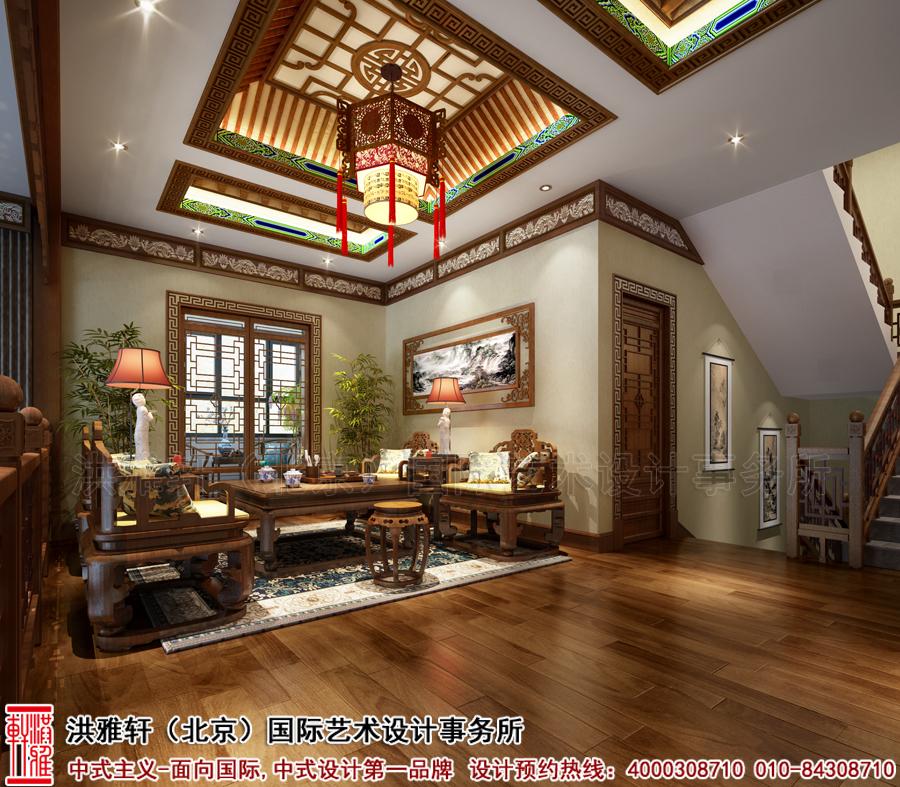 茶室古典中式装修别墅