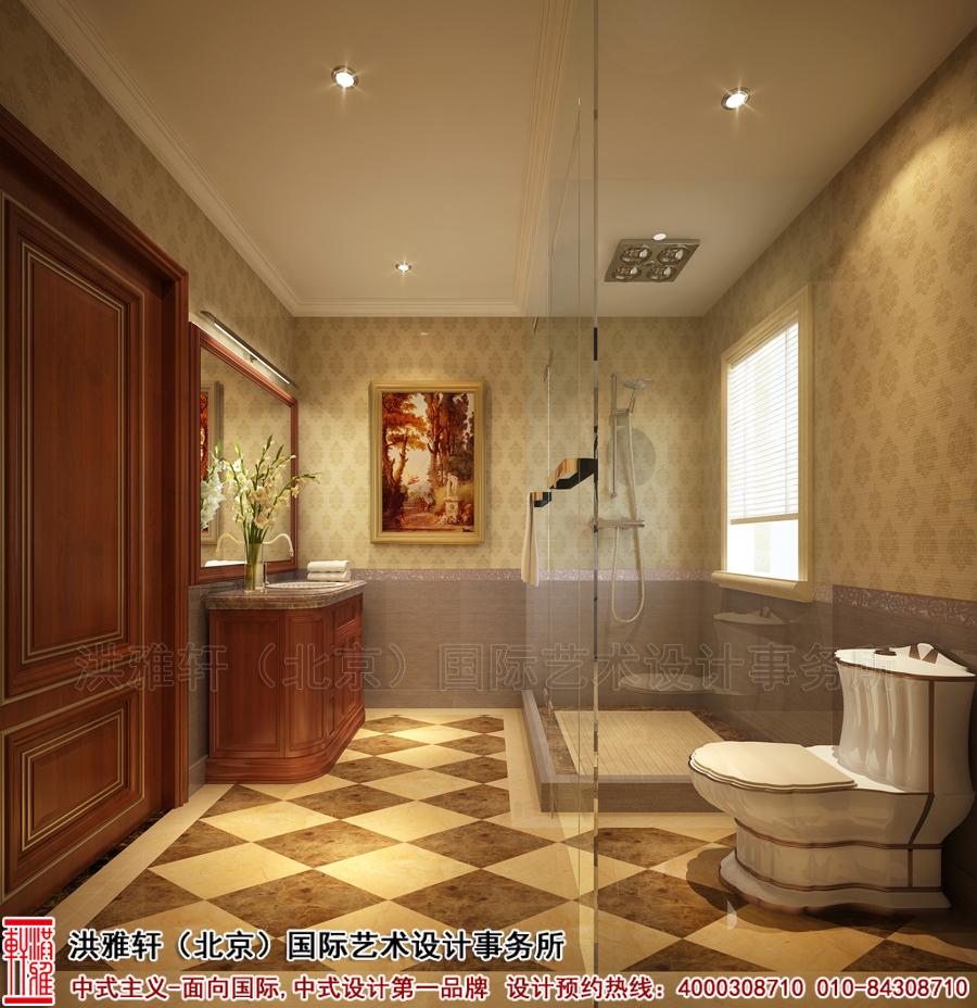 卫生间别墅古典中式装修