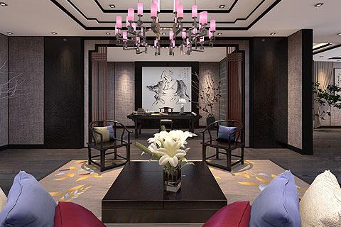 南京理想茶业古典中式装修案例——琉璃婉转,悱恻缠绵