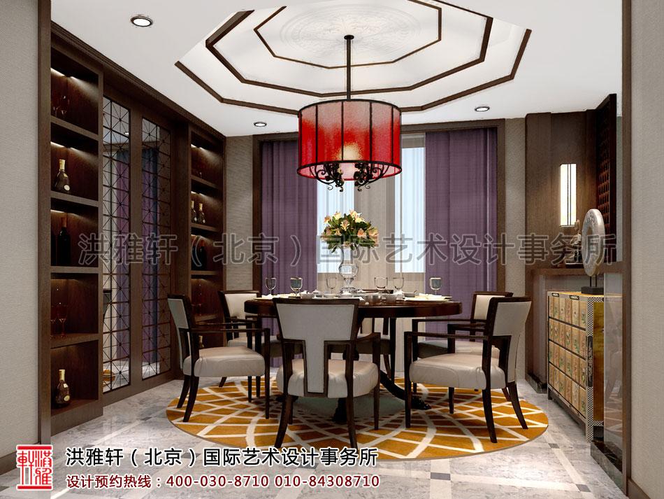 餐厅新中式设计住宅