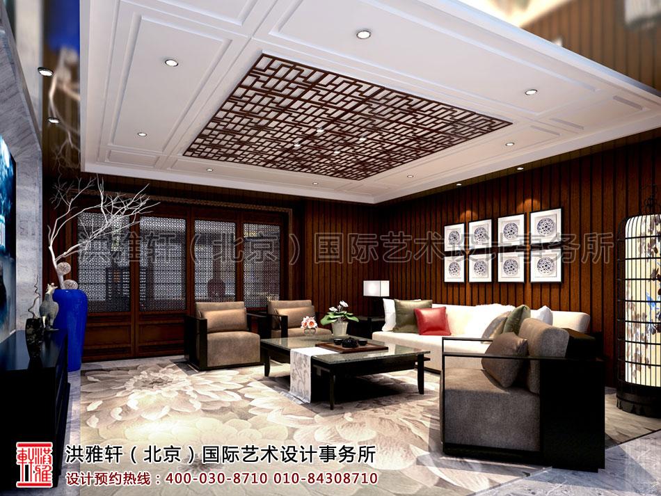 休闲室新中式设计住宅