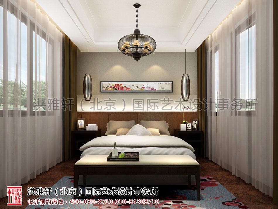 南昌住宅卧室新中式设计
