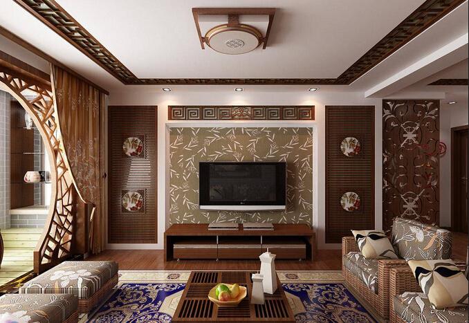 小房子中式装修如何才能拥有大空间效果