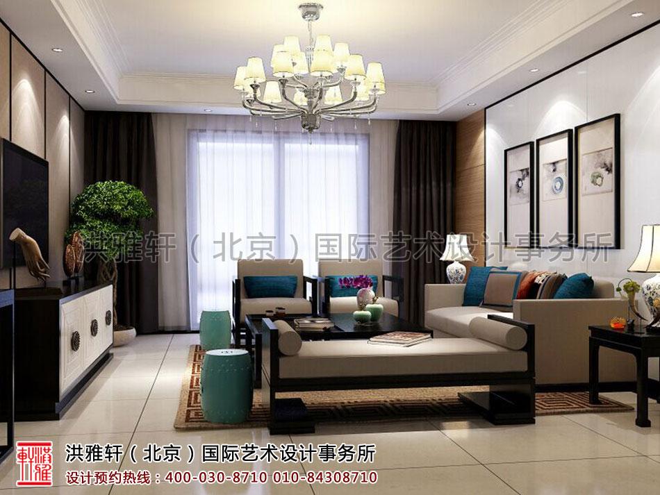 浙江住宅现代中式风格客厅