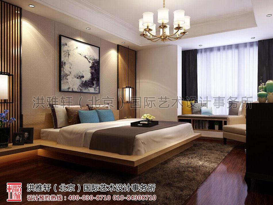 卧室浙江简约精品住宅现代中式风格