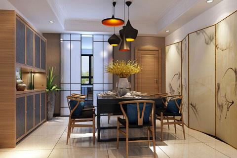 浙江简约精品住宅现代中式风格案例,新颖夺目的优雅空间