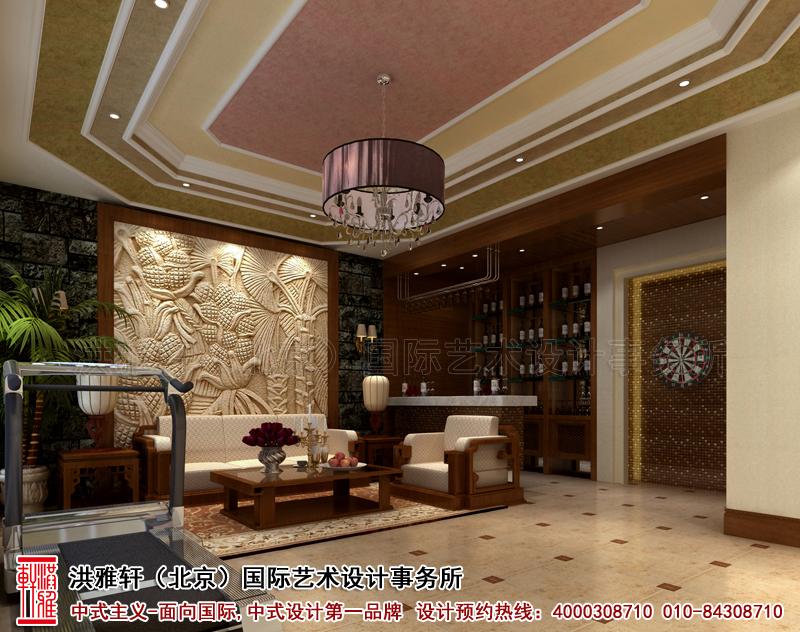 地下室北京香山李总四合院古典中式装修