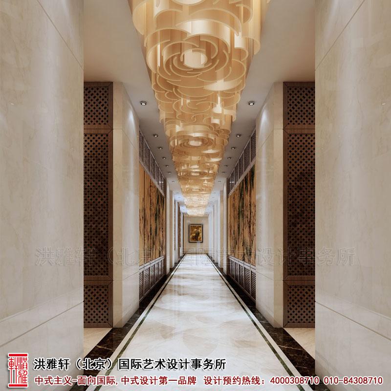 北京香山李总四合院地下走廊古典中式装修