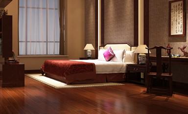 依据风水打造最合理的中式装修卧室