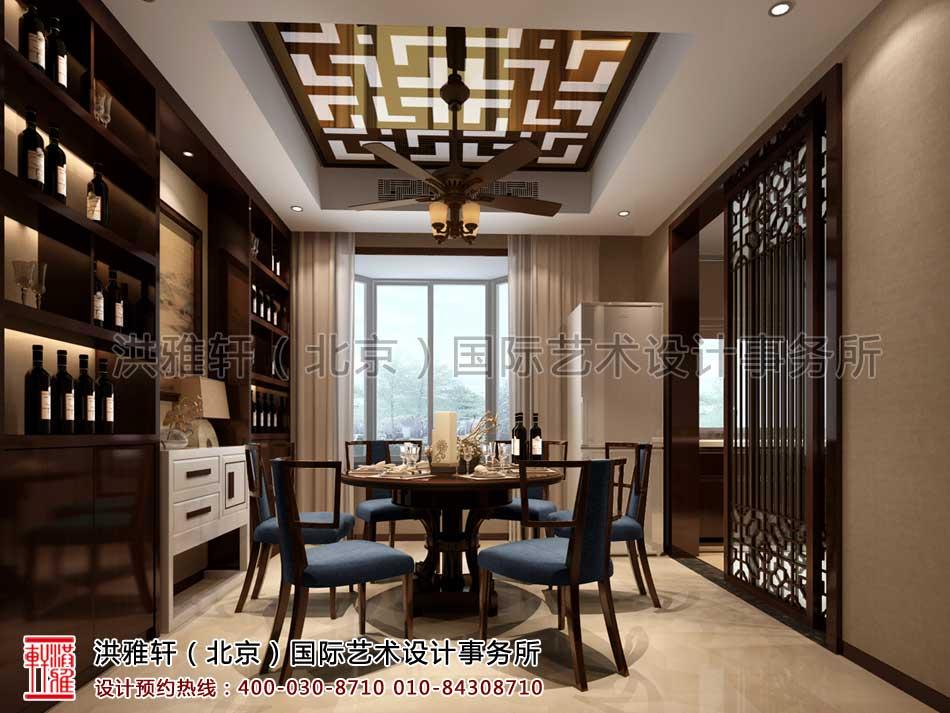 餐厅现代中式风格复式楼