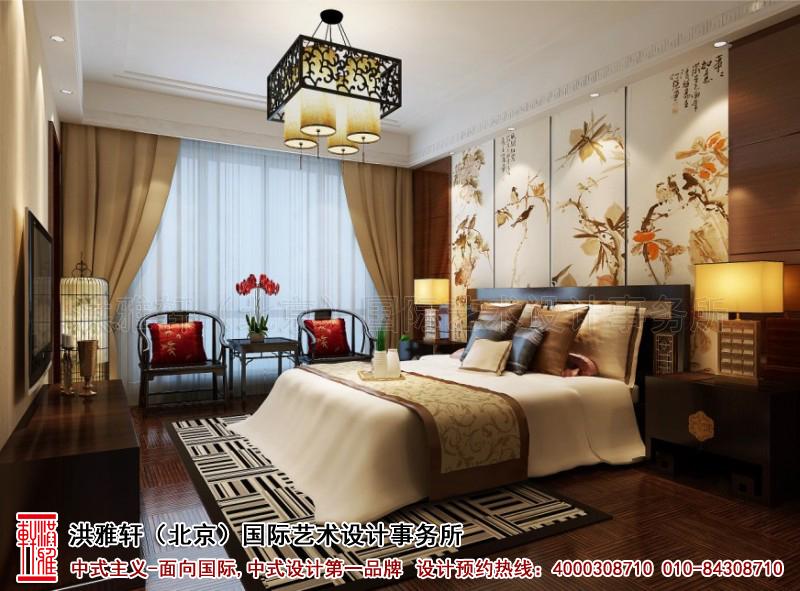 卧室复式住宅古典中式装修