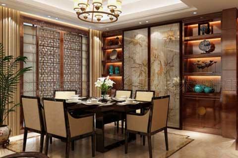 天津孔先生复式住宅古典中式装修,温馨而舒雅