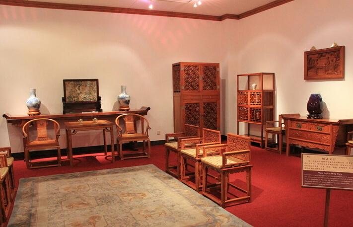 保养黄花梨中式家具要达到欣赏效果