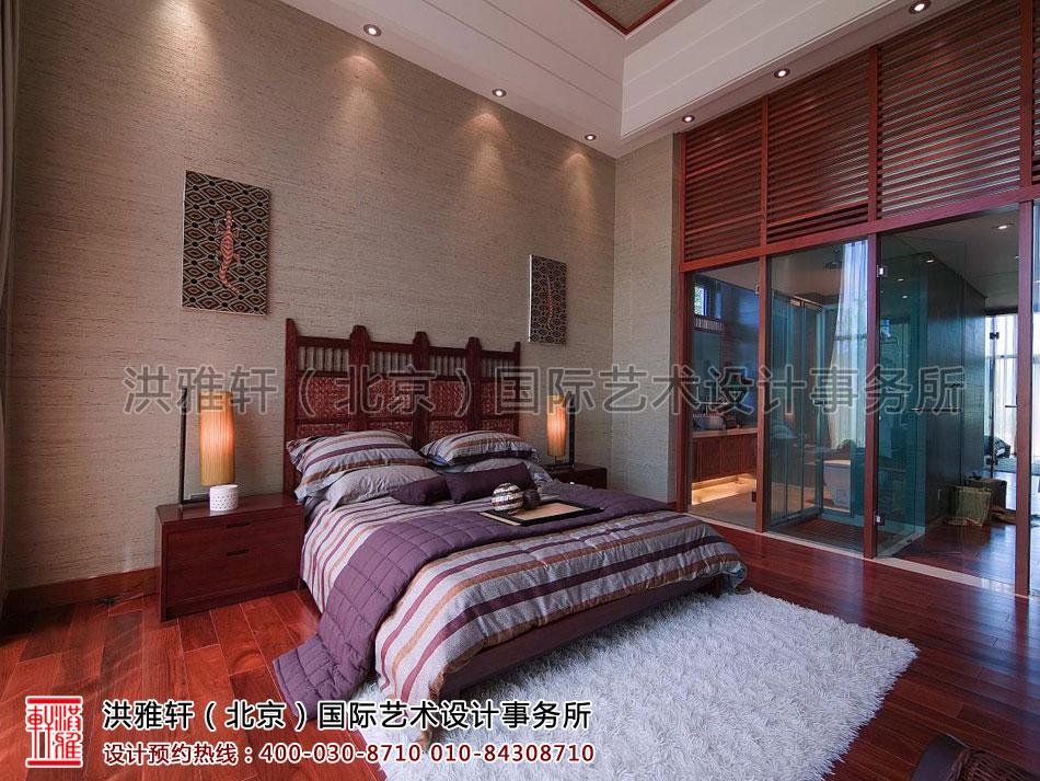 卧室复式住宅 现代中式风格