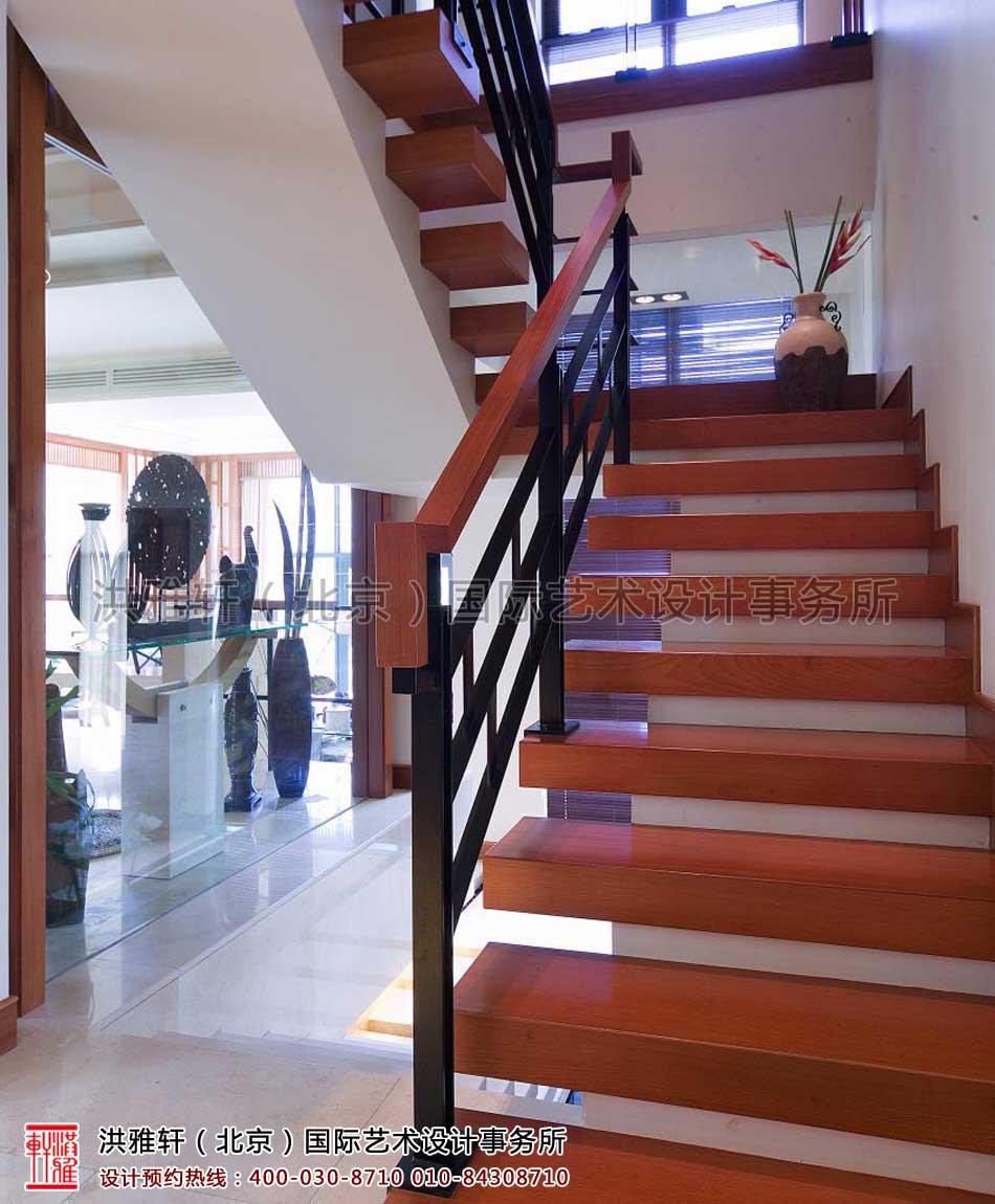 中式楼梯装修