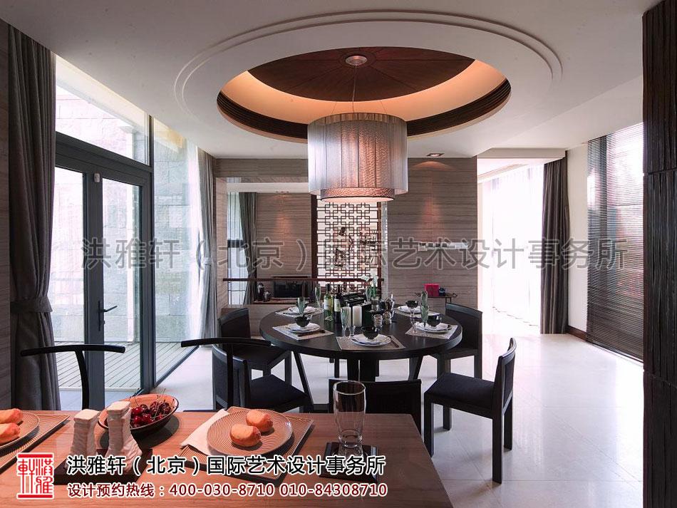 餐厅现代中式风格复式住宅上海