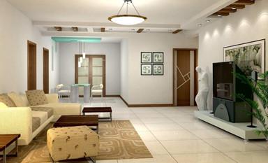 客厅中式装修财位处要布置一个好风水