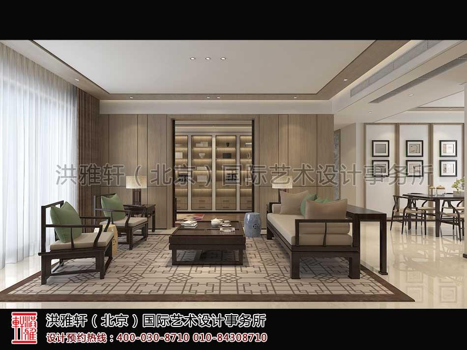 顺义精品住宅新中式设计休闲室