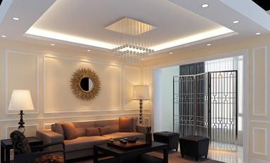为客厅中式装修空间选择一款合适的灯具