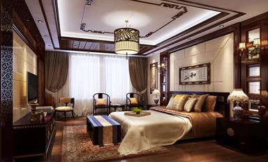 该如何打造一间优雅独特的中式装修卧室