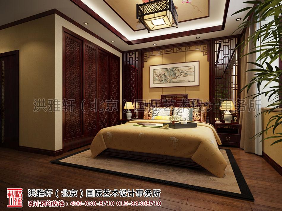 湖北荆州精品住宅古典中式装修卧室