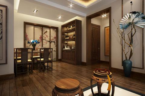 河北石家庄新中式精品住宅装修,以轻盈姿态抒写清雅禅意