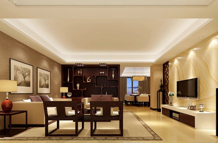 影响客厅中式装修风水吉凶的七个原则