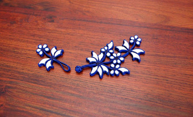 浪漫的传统工艺盘扣于古雅之中见清纯