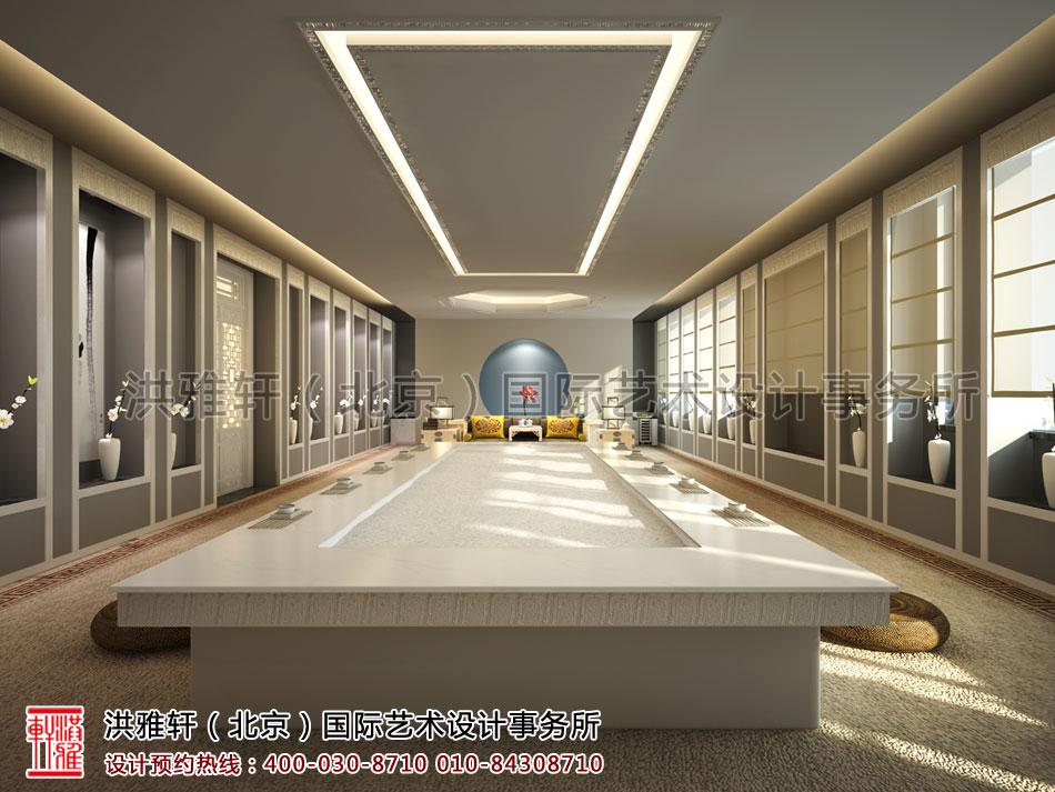 普寿寺善缘楼中式设计-会茶室(一)