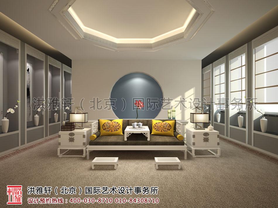 普寿寺善缘楼中式设计-会茶室(三)