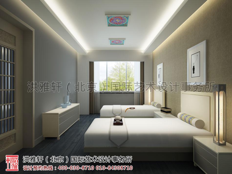普寿寺善缘楼起居室中式设计(一)