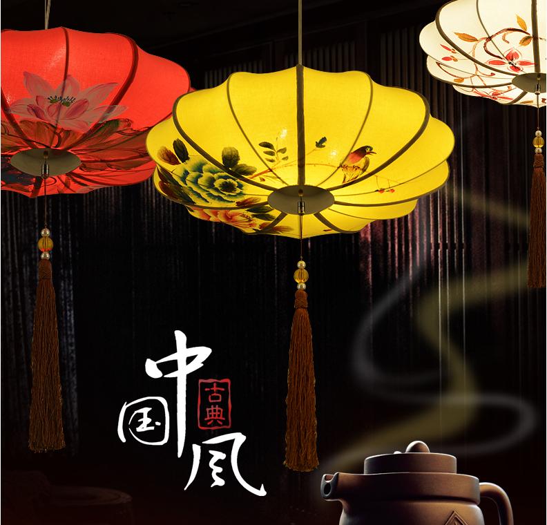古典宫灯-中式配饰-手绘宫灯