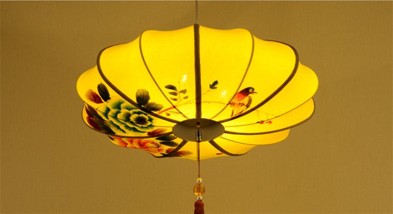 古典中式配饰手绘宫灯